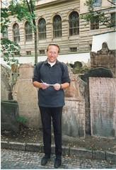 Met een Joods keppeltje in Praag
