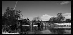 bridge reflection (alonzadriver 2e0eay) Tags: bw nikon d90 blueribbonwinner golddragon abigfave platinumphoto goldstaraward dragondaggerphoto flickrclassique