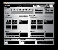 microKORG XL Editor