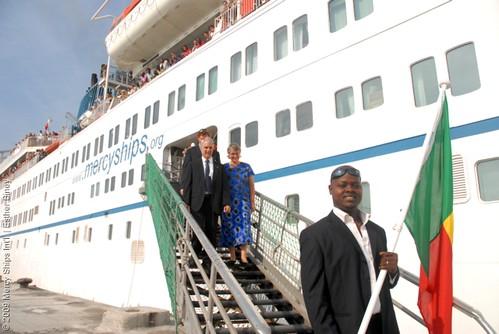 Arrival in Benin