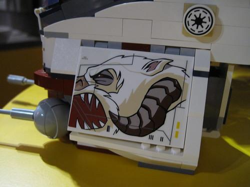 LEGO Star Wars 10195 Aufkleber
