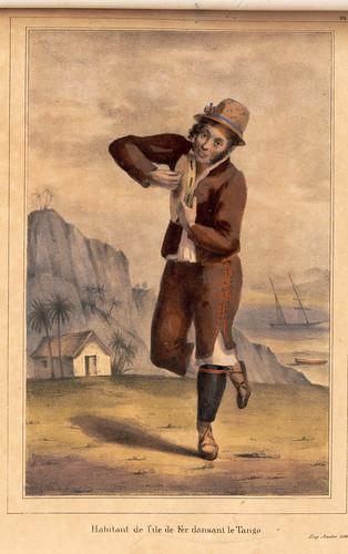 019-Habitante de la isla del Hierro bailando el tango