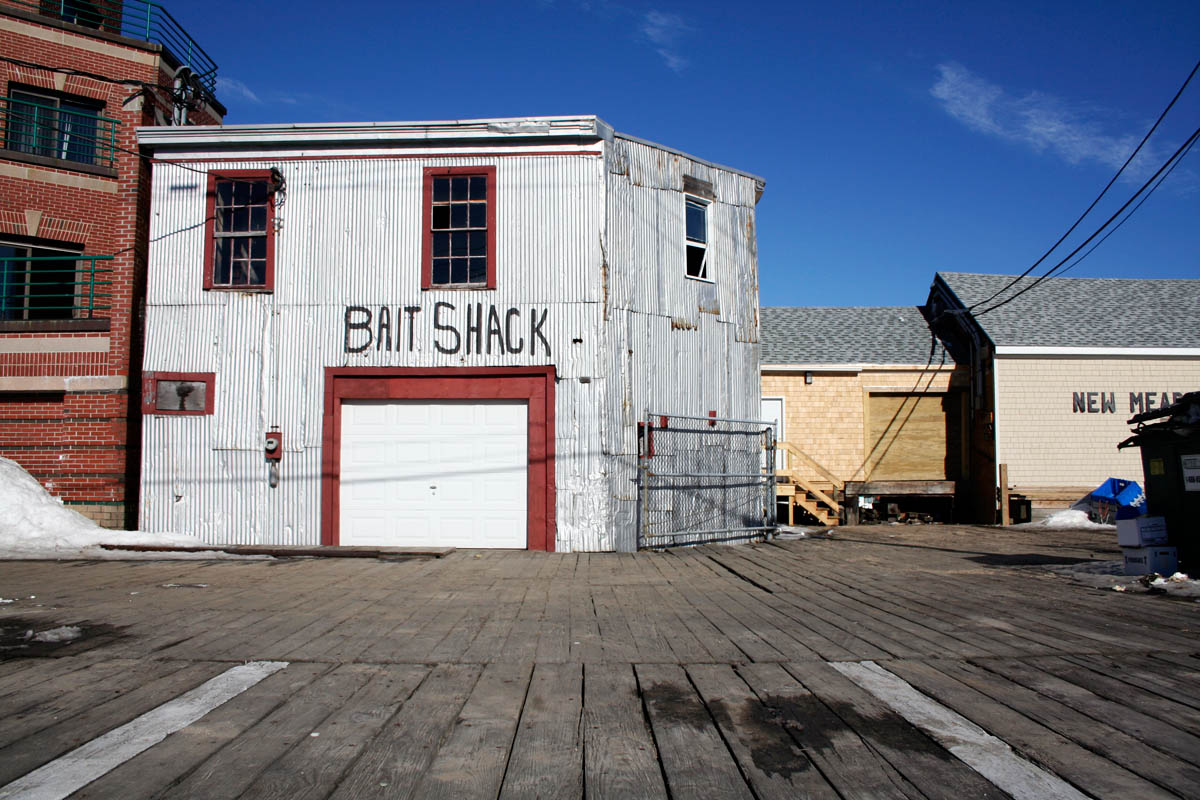 Bait Shack, Portland Pier, Portland, Maine