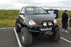 Lifted Ford Ka (Si 558) Tags: show road park ford 4x4 off ka lifted donington doningtonpark worldcars