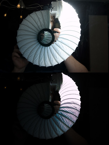Ringlight with Flash (and -4stop exposure)