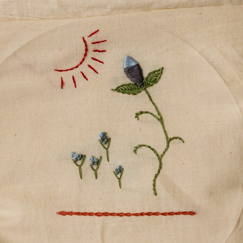 Thing 26: Embroidered Scene