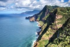 20080708-vs-5930 (Made in Madeira) Tags: blue portugal nature azul clouds island waterfall europe blu bleu nuvens santana blau madeira 10faves achadadogramacho rochadonavio nouages mywinners abigfave fiveflickrfavs ribeiradasoca