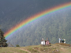 Tsokha, Sikkim, India (Marc_P98) Tags: india tree rain forest trek rainbow view tourist himalaya sikkim kanchenjunga tsokha