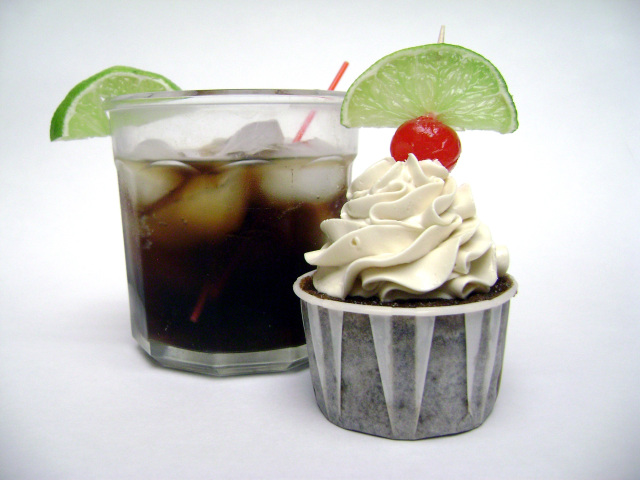 Rum and Coke Cupcakes 1