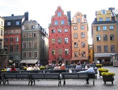 Relaxing in Gamla Stan (bryanDeldridge) Tags: sweden stockholm scandanavia