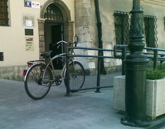 bicycle as street furniture
