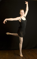 039 (selfhumor) Tags: red ballet girl rose pose hair dance jump shoes toes hand dress legs spin 15 dancer tights grace teen leap slipper slippers poise leotard frsh