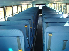 A-7803 Inside (crown426) Tags: schoolbus immi 2009 cng seatbelts blueseats safeguard compressednaturalgas newbus thomashdx