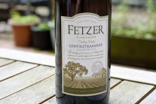 Fetzer Gewurztraminer 2007