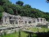 The ancient site of Butrint