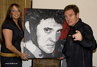 zoe and alvin stardust  with picture