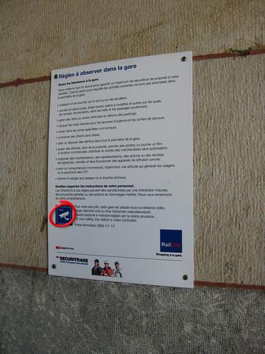 Bahnhofordnung Lausanne
