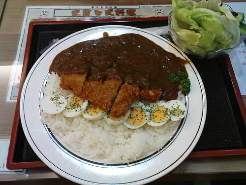 咖哩豬排飯