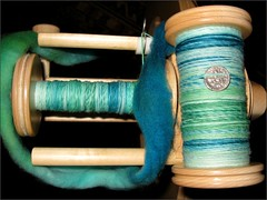 Sea Nymph yarn, bobbin 1+