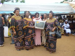 Nkumu Fed Fed at the African Women's Day Celebration