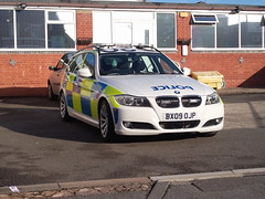 West Midlands Police BMW 3 Series Tourer (OCU M3 - Unit 1) (ModellerRob's ESV Photos (One)) Tags: 3 west police renault master bmw vehicle series van coventry audi patrol a6 battenburg midlands response armed marked tourer unmarked arv