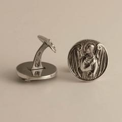 Guardian Angels silver cufflinks (wingedlion) Tags: silver jewelry cuffs wingedlion designerjewelry
