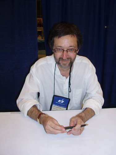 Award-winning author Guy Gavriel Kay at WorldCon 2009.