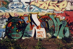 Ewok (tyler24601) Tags: party money minnesota word graffiti call wasp time cities minneapolis twin boo ewok mpls booty tc awr shelter hm grip bomb mn phat wombat 612 yaa skillz atd