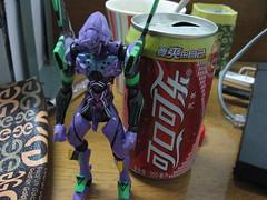 初号機と可口可乐
