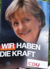 wahl 01 CDU Merkel hat die Kraft