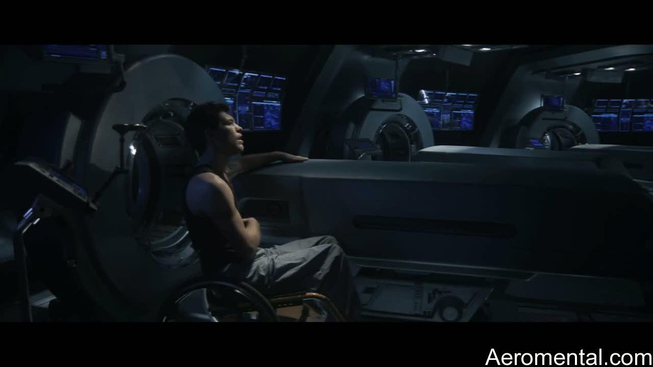 Avatar Jake Sully en silla de ruedas