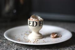 A Very British Breakfast (Ali Elan) Tags: breakfast tea toast egg brunch soldiers buttered eggcup boiledegg britishbreakfast emmabridgewater penguinmug breakfastideas