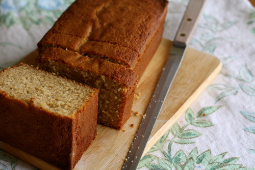 Honey Whole Wheat Pound Cake