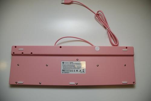 i-rocks KR-6401 粉紅巧克力鍵盤 - 08