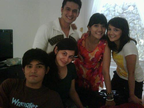 Foto Afandy, Indra Brugman, Monica Oemardi, Fitri Ayu Maresa dan Anisa Sulandana