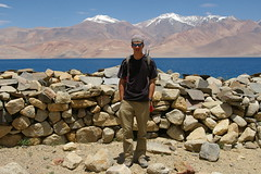 Marc and Mani Wall at Tso Moriri (Andreas' Photos) Tags: ladakh tsomoriri korzok