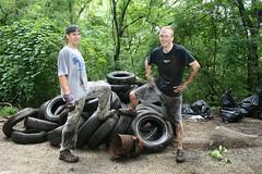 Stringer's Ridge Clean UP- August 29, 2009