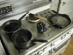 IMG_3662 (gfixler) Tags: ink walnut nuts stove howto castiron making fryingpan frypan simmering simmer juglans juglansregia englishwalnut juglone persianwalnut commonwalnut