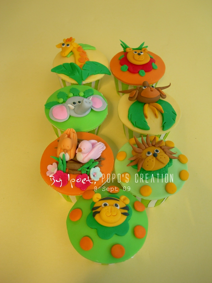 Jungle cupcake for MORI