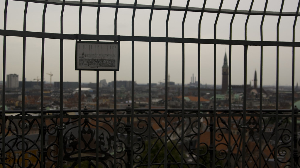 Copenhagen: Round Tower Panorama