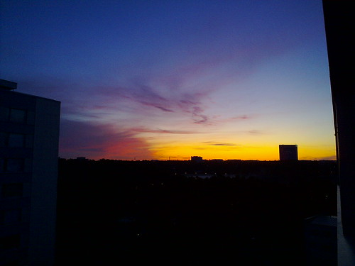 Dawn from our place
