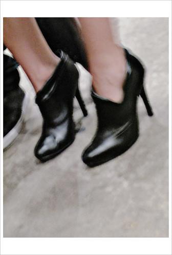 Black Mini Boots