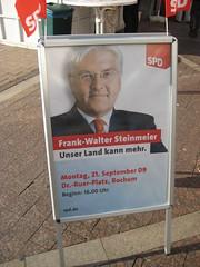 Frank-Walter Steinmeier (SPD) in Bochum