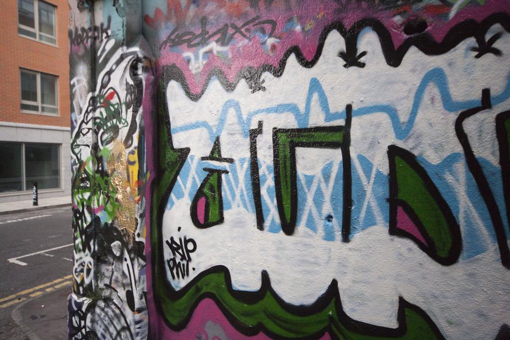 Wide Angle Views Of Dublin Street Art