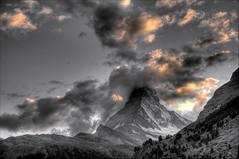 sunset impressions @ zermatt switzerland (Toni_V) Tags: sunset sky alps nature clouds landscape schweiz switzerland suisse tripod zermatt matterhorn alpen svizzera wallis 2009 hdr valais cervin d300 cervino photomatix 7exp toniv gitzogt1540 theperfectphotographer dsc1694 090815