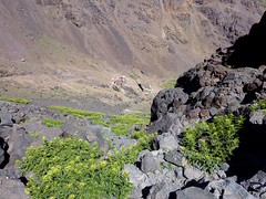 The refuge seen from above (2 refuges nowadays) (Frans.Sellies) Tags: morocco maroc marokko toubkal jebeltoubkal    toubqal
