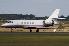 OE-HAF - Jetalliance - Dassault Falcon 2000 - Luton - 090925 - Steven Gray - IMG_9604