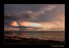 the last light... (~pauline sirks ~) Tags: ocean sunset sea beach gulfofmexico clouds florida annamariaisland abigfave