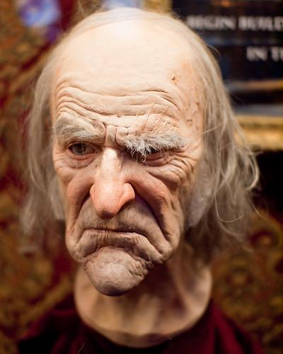 Scrooge Head Maquette
