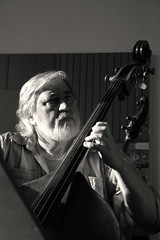 Zeus of the bass (robert ragan) Tags: light shadow bw music playing nikon play bass great zeus bassist moravian doublebass miloslavgajdo